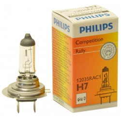 PHILIPS H7 Rally 12035RAC1 12V 80W