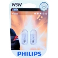 PHILIPS W3W Vision 12256B2 12V 3W 2ks