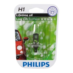 PHILIPS H1 Long Life EcoVision 12258LLECOB1 12V 55W blistr