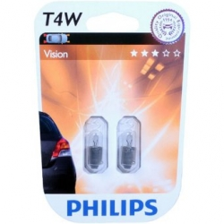 PHILIPS T4W Vision 12929B2 12V 4W 2ks