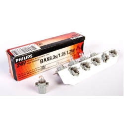 PHILIPS BAX 8,3s/1,35 Grey 13597CP 24V