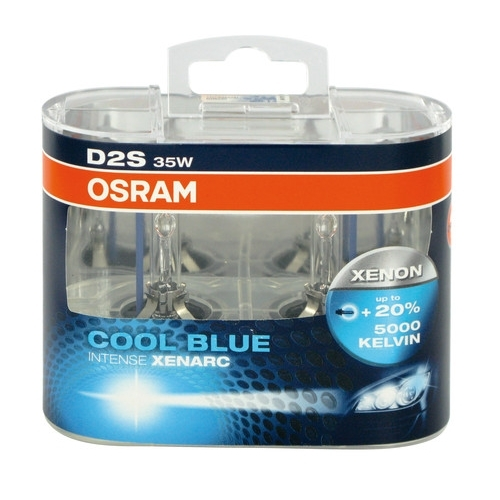 osram xenarc d2s cool blue intense 66240cbi hcb 35w 2ks. Black Bedroom Furniture Sets. Home Design Ideas